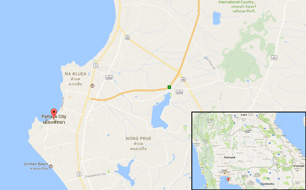 British man shot dead in his Porsche in Thai resort town