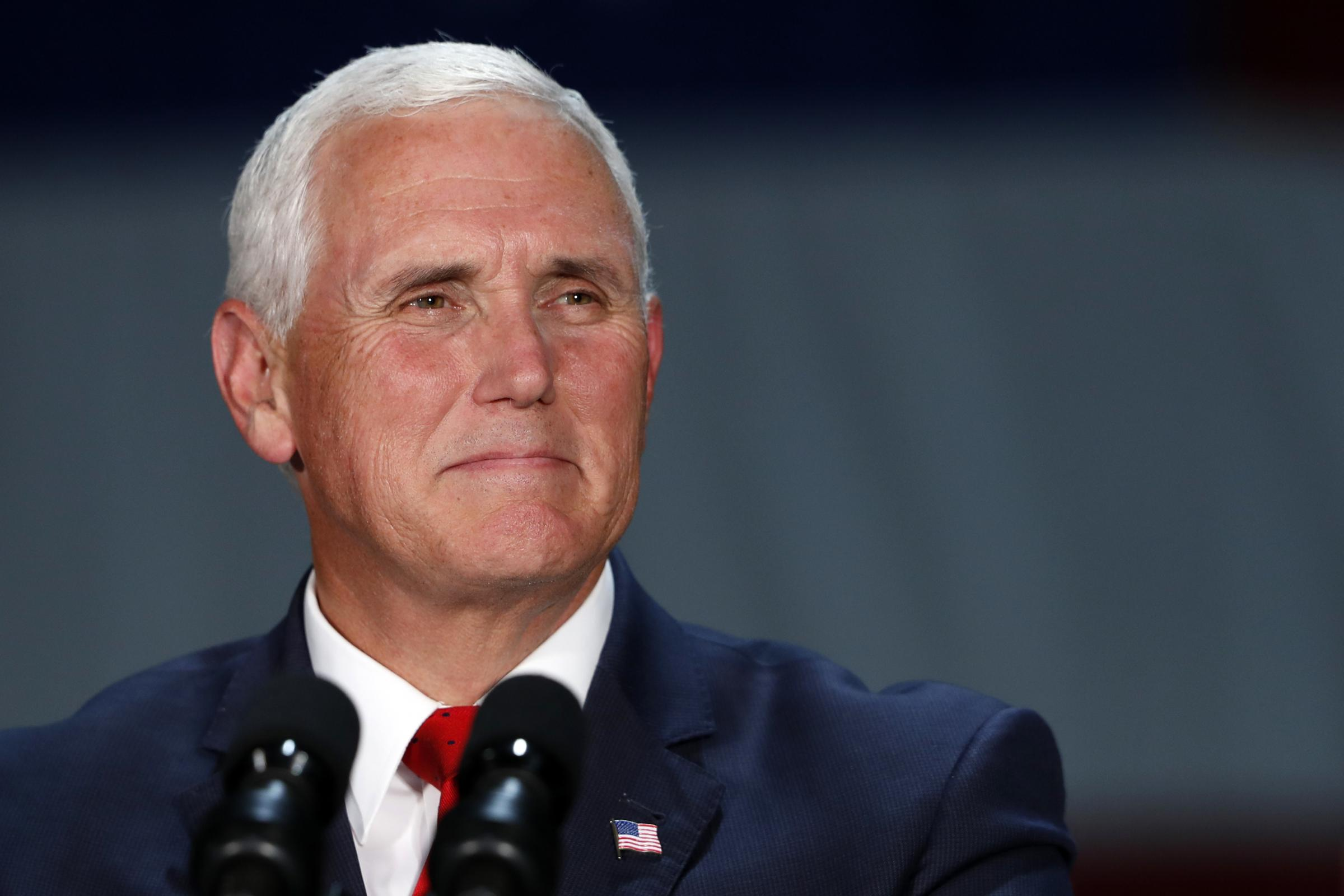 Pence: I'm confident no one on my staff wrote the NYT column